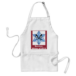 Winter of 2015 Survivors & Veterans Standard Apron