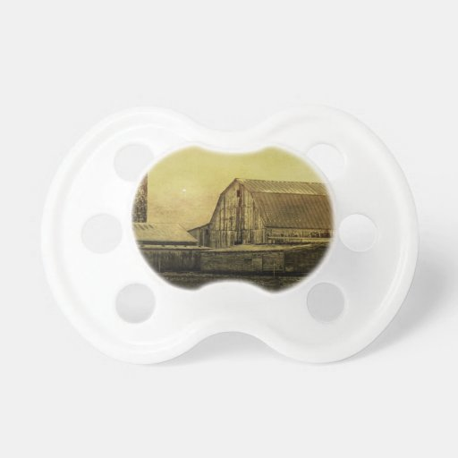 Winter On The Farm Baby Pacifiers
