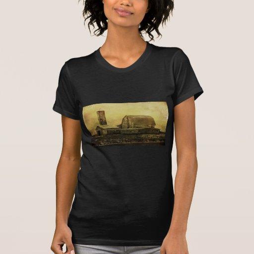 Winter On The Farm T-shirt