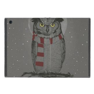 Winter owl iPad mini cover