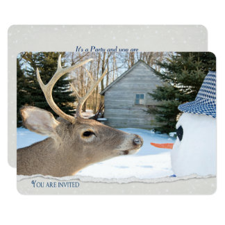 Winter Party Card
