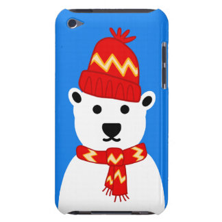 Winter Polar Bear - iPod Touch Case