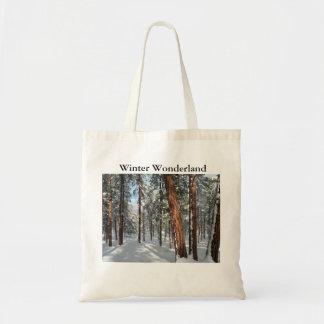 Winter Ponderosa Tote Bag