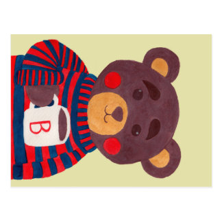Winter Season is Coming (Bear) Postcard