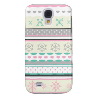 Winter Socks Collection Light Galaxy S4 Case