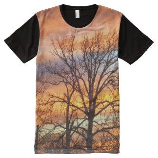 Winter Sunset 1 All-Over Print T-Shirt