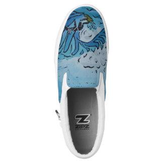 Winter Surfer Slip-On Shoes