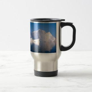 Winter Through The Icebergs Travel Mug