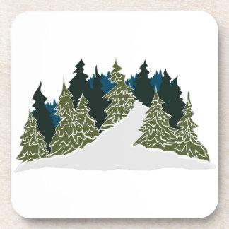Winter Trail Scene Coaster