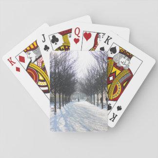 Winter Tree's in Prague (czech republic) Playing Cards