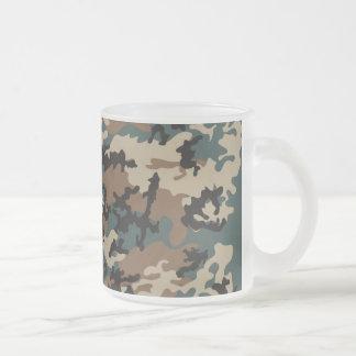 Winter Verdant Camo Frosted Coffee Mug
