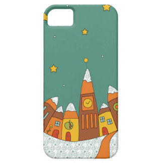 Winter Village Case For The iPhone 5