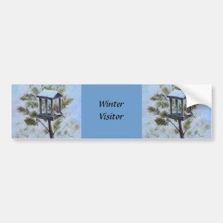 Winter Visitor Bumper Sticker