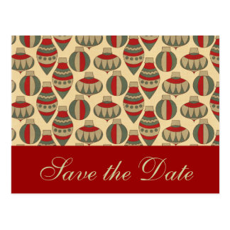 Winter Wedding Save the Date Cards