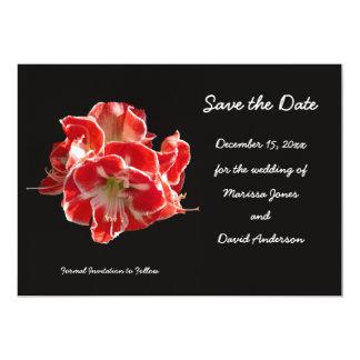 Winter Wedding Save the Date Invitation