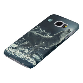 Winter Wolves Samsung Galaxy S6 Cases