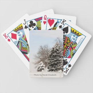 Winter Wonderland Playing Cards