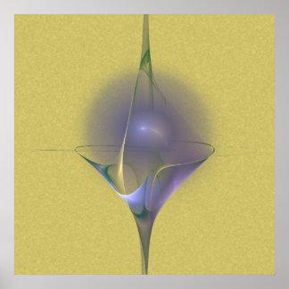 Winterini Faery Martini Art Poster