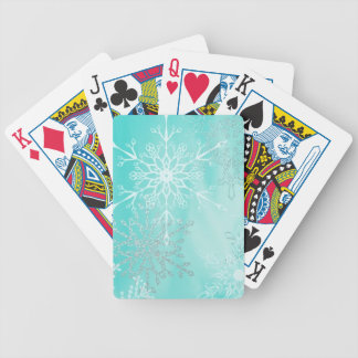 Winter's Touch Bicycle Playing Cards