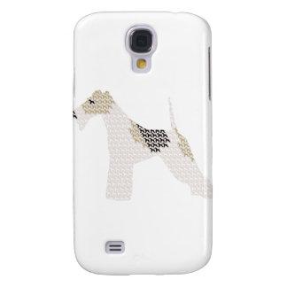 Wire Fox Terrier Galaxy S4 Case