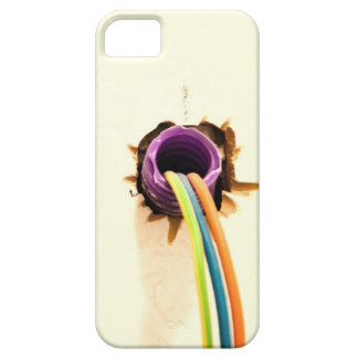wires out of the wall iPhone 5 cover
