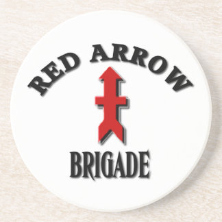Wisconsin Army National Guard Red Arrow Brigade Coaster
