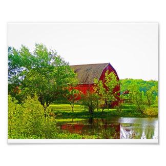 Wisconsin Barn Photo Art