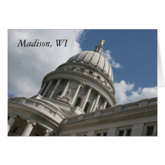 Wisconsin Capitol Card