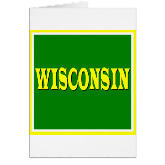 Wisconsin LL Greeting Card