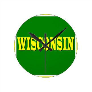 Wisconsin LL Wall Clock