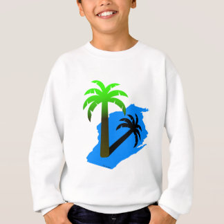 Wisconsin Palm Tree Sweatshirt
