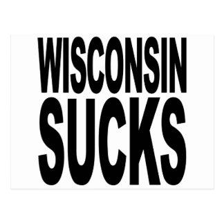 Wisconsin Sucks Postcard