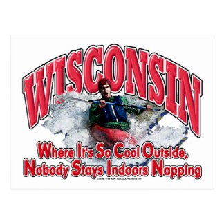 Wisconsin Whitewater Postcard
