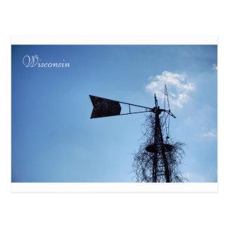 Wisconsin Windmills Postcard