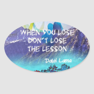 Wisdom can do everything oval sticker