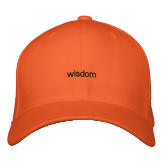 WISDOM EMBROIDERED HAT