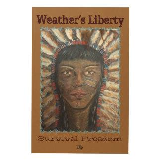 """Wisdom"" Wooden Canvas Wood Canvas"