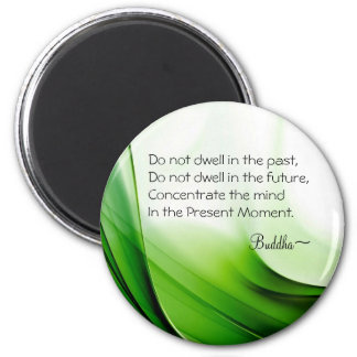 Wise Buddha Quote Magnet