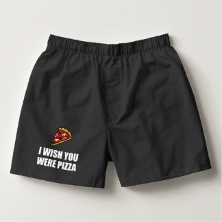 Wish You Were Pizza Boxers