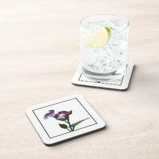 Wishbone Flower Cork Coasters