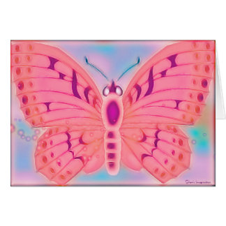 Wishes Butterfly BLANK Card