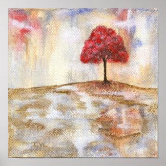 Wishing Tree Fine Art Print From Original Painting