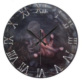 Wishing Well 2 (Water) Large Clock