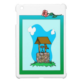 Wishing well cover for the iPad mini