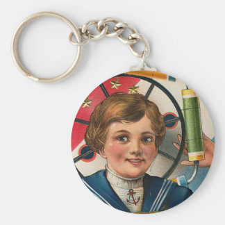 Wishing You a Glorious 4th of July Key Ring