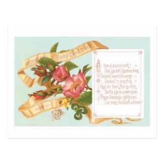 Wishing You a Happy Christmas Postcard