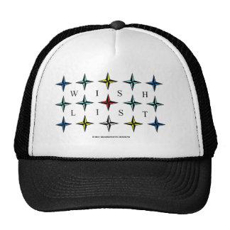 Wishlist, Color Hat