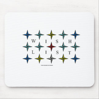 Wishlist, Make One Today!  Expect a Miracle! Mouse Pad
