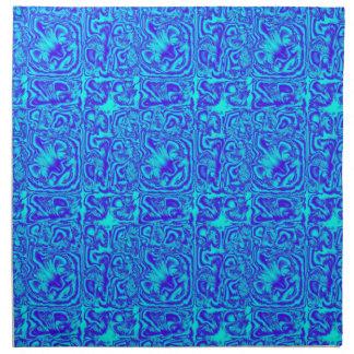 Wishy Washy Blue Napkin