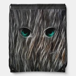 Wisp Eyes Drawstring Bag